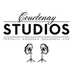 Courtenay Studios logo, Wellington New Zealand
