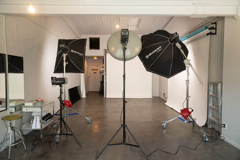 Courtenay Studios in use with Elinchrom flash units, courtenay studios photo studio hire wellington, studio in use, , photography studio hire wellington cbd